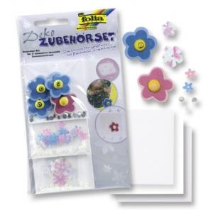 Sada dekorací Celoroční č. 2 - Moderní květinky