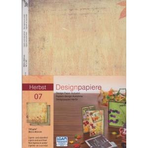 Designový papír 5 listů Podzim 7