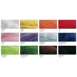 Pohádkově jemná vlna cca 350g , mix 12 barev