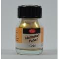 Edelmetall pudr - prášek zlatý 25ml