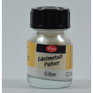 Edelmetall pudr - prášek stříbrný 25ml