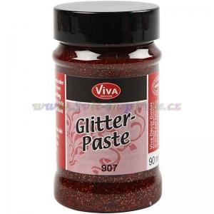 Glitter pasta Bronzová 90ml