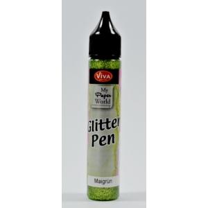 Glitter-Pen Májově zelený 25ml