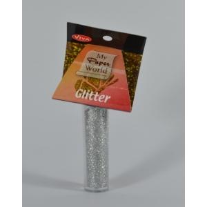 Glitter stříbrný 6g