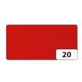Hobby Filc 150g/m2 45cm x 5m role sytě červený