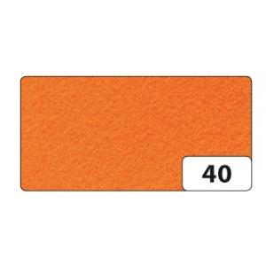 Hobby Filc 150g/m2 10 listů 20x30cm oranžový