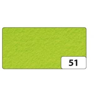 Hobby Filc 150g/m2 45cm x 5m role světle zelený
