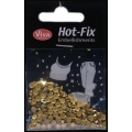 Hot-Fix nýtky Osmihran limetka 4mm