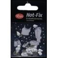 Hot-Fix nýtky Kapka perleťová 8x5mm