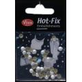 Hot-Fix nýtky Kulaté perleťové 5mm