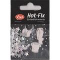 Hot-Fix nýtky Hvězdička perleťová 5x8mm