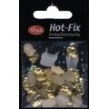 Hot-Fix nýtky Lebky zlaté 8x12mm