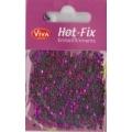 Hot-Fix kamínky Osmihran Růžový 3mm