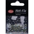 Hot-Fix kamínky Duhové ve stříbře 6mm