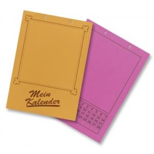 Kalendář měsíční A4 130g/m2, mix barev