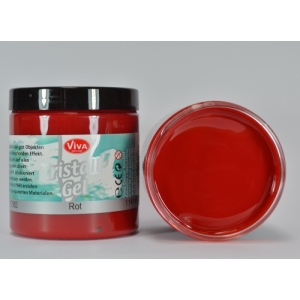 Křišťálový gel Červený 250ml