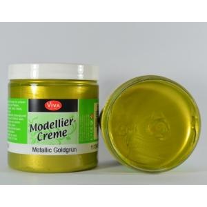 Modelovací krém Metalická zlatozelená 250ml