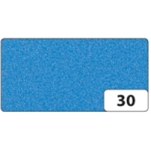 Moosgummi 10 archů 20x29cm nebeská modrá