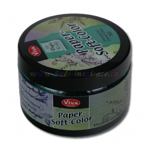 Paper-Soft-Color Smaragdově zelený 75ml