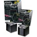 Black Style černý papír 20 listů A4, 100g