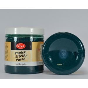 Papírová pasta Tmavě zelená 250ml