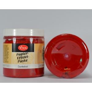 Papírová pasta Tmavě červená 250ml