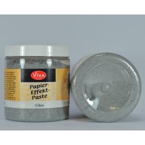 Papírová pasta Stříbrná 250ml