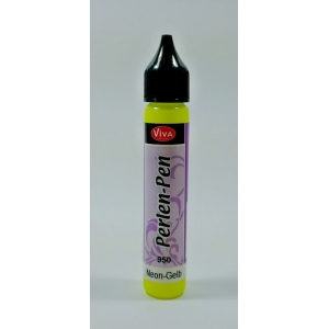 Perlen-Pen Neon žlutý 25ml