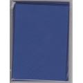 5 dvojlistých přáníček + 5 obálek 10,5 x 15cm královská modrá