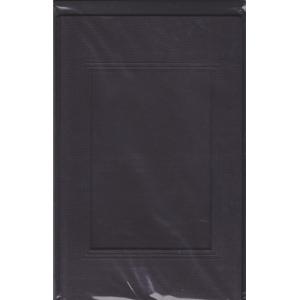 3 paspart. přání ražená + 3 obálky 11 x 18cm s výsekem obdélník černá