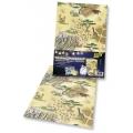 Transparentní papír 5 listů 115g 23x33cm Safari