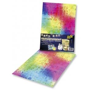Transparentní papír 5 listů 115g 23x33cm Mozaika