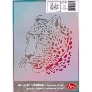 Univerzální šablona A4 Leopard