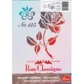 Univerzální šablona A4 Rose Classique