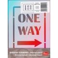 Univerzální šablona A5 One Way