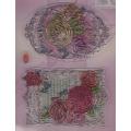 Transparentní silikonová razítka D96 Fleur de Printemps